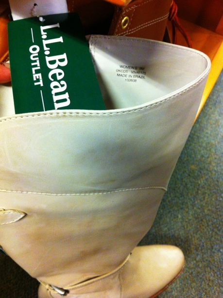 LL Bean Boots from Brazil