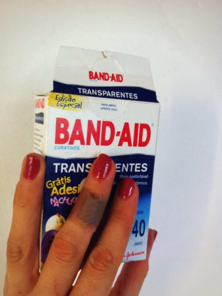 """Transparent"" Band-Aids"