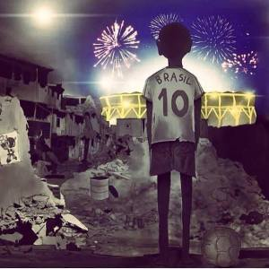 """""""El Otro Mundial"""" (The Other World Cup)- shared by Hassan on Facebook."""